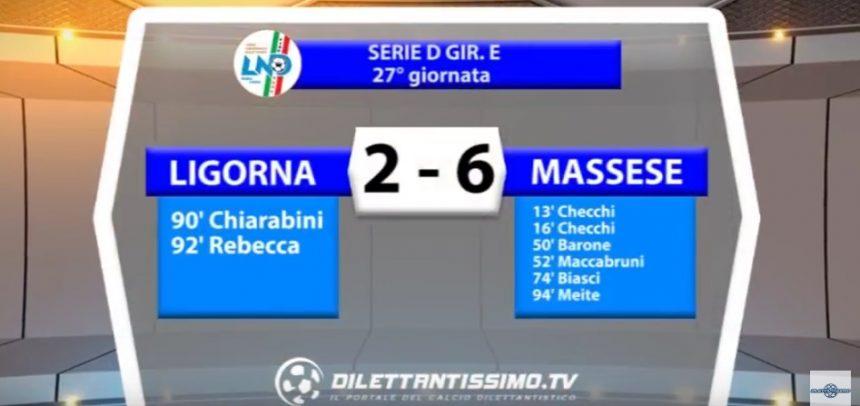 [Serie D] Ligorna 2 Massese 6 sintesi video by Dilettantissimo.tv