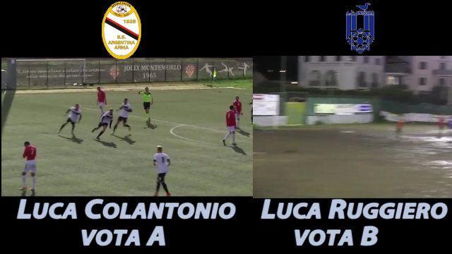 Luca Colantonio vs Luca Ruggiero, vota il goal più bello della settimana
