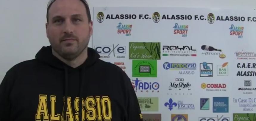 """[Video] Alassio FC, intervista a mister Amedeo Di Latte:""""Fine di un ciclo? La mia intenzione è andare avanti con questa società"""""""