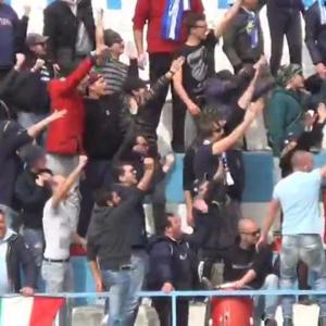 Sanremese-Savona, al termine della partita Gaeta colpisce al volto mister Riolfo