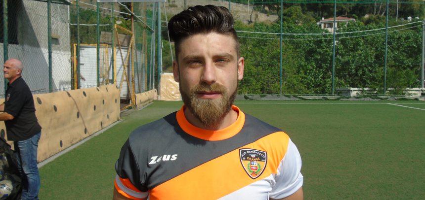 E' Alessandro Ginatta il Man of the Match di Ospedaletti-Alassio FC 2-2