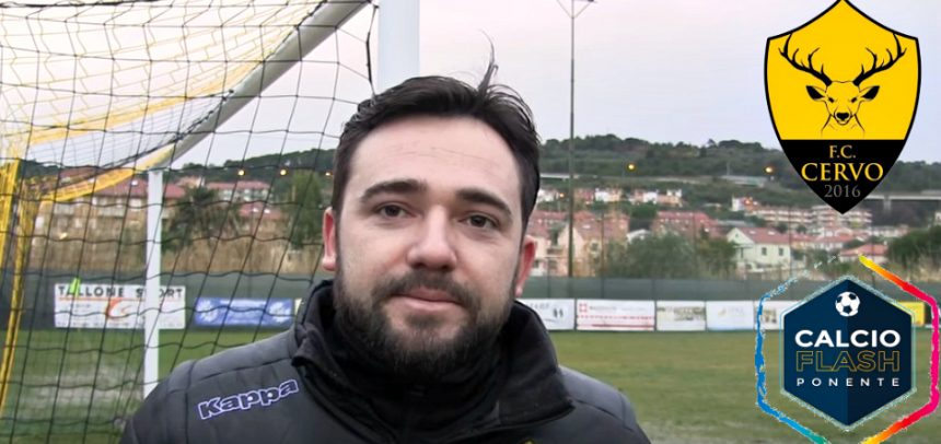Cervo FC, le dichiarazioni del presidente Denis Muca dopo la sconfitta con il Sanremo 80