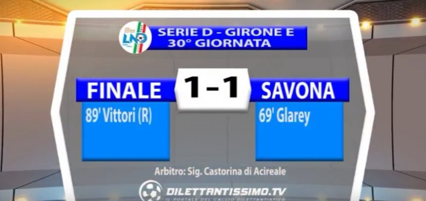 [Serie D] Finale 1 Savona 1 sintesi video by Dilettantissimo.tv
