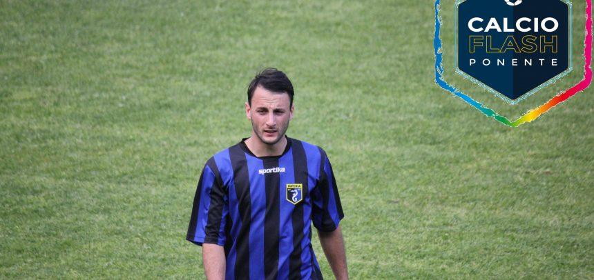 """ASD Imperia, Giuseppe Giglio in gol nel 3-1 al Molassana:""""Ringrazio la squadra e la mia famiglia che mi segue sempre"""""""
