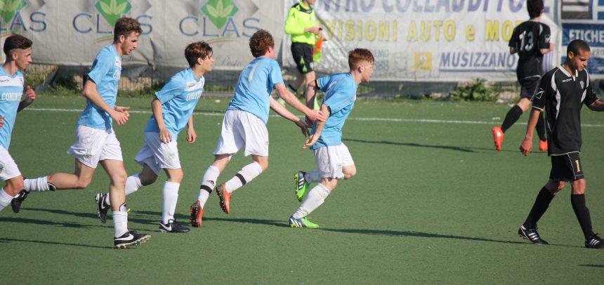 Juniores Nazionali, la Sanremese pareggia 1-1 con la Lavagnese, eurogol di Matteo Aretuso