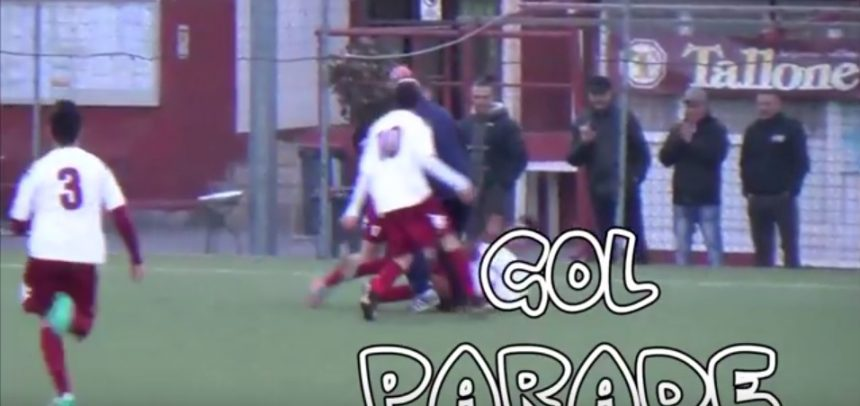 Juniores Ventimiglia, la goal parade realizzata da Franco Rebaudo