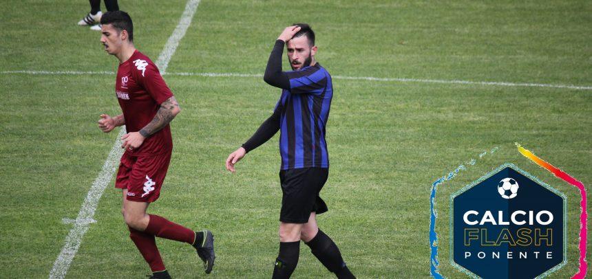 """Imperia, Fabio Laera commenta il pareggio con l'Alassio FC:""""E' stata una battaglia, presi due gol da stupidi"""""""