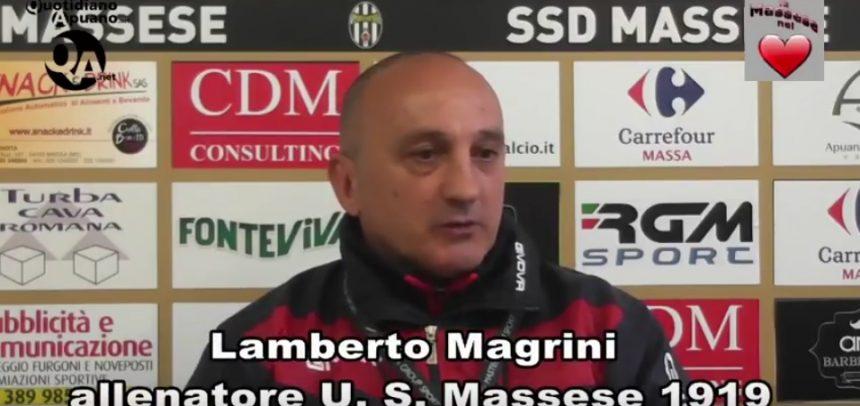 """Serie D, il nuovo mister della Massese, Lamberto Magrini, in conferenza stampa: """"C'è un pò di rammarico per aver perso il campionato"""""""