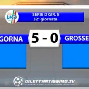 [Serie D] Ligorna 5 Grosseto 0 sintesi video by Dilettantissimo.tv