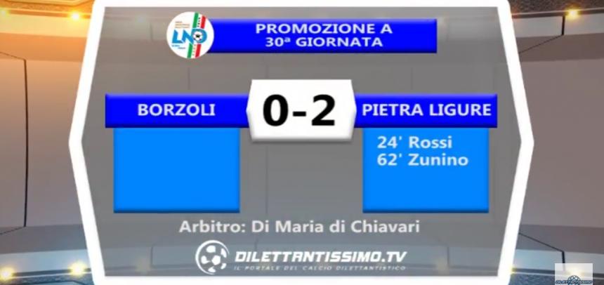 Promozione, gli Highlights di Borzoli-Pietra Ligure 0-2 by Dilettantissimo