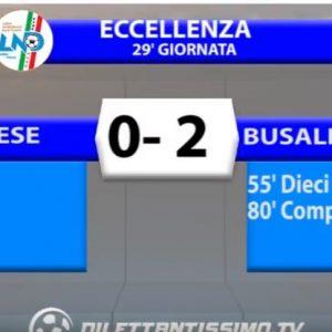 [Eccellenza Liguria] Sestrese 0 Busalla 2 sintesi video by Dilettantissimo.tv