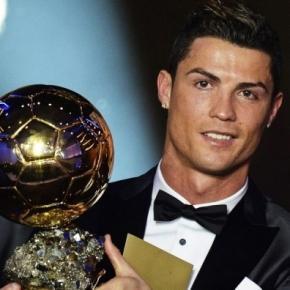 INCREDIBILE!!! Cristiano Ronaldo alla premiazione del Pallone d'Oro del Ponente