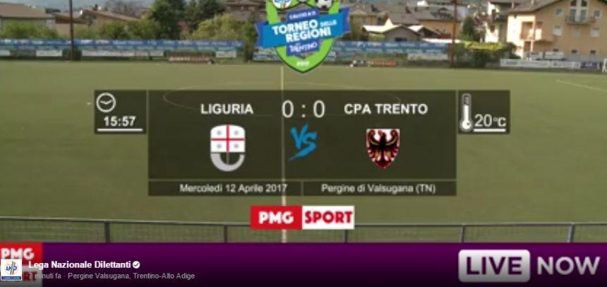 Torneo delle Regioni cat. Femminile, segui in diretta video la partita tra Liguria e Trento