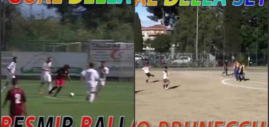 Besmir Balla vs Marco Prunecchi, vota il goal più bello della settimana!