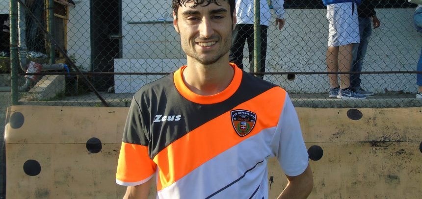 E' Walter Orlando il Man of the Match di Ospedaletti-Dianese&Golfo 1-1