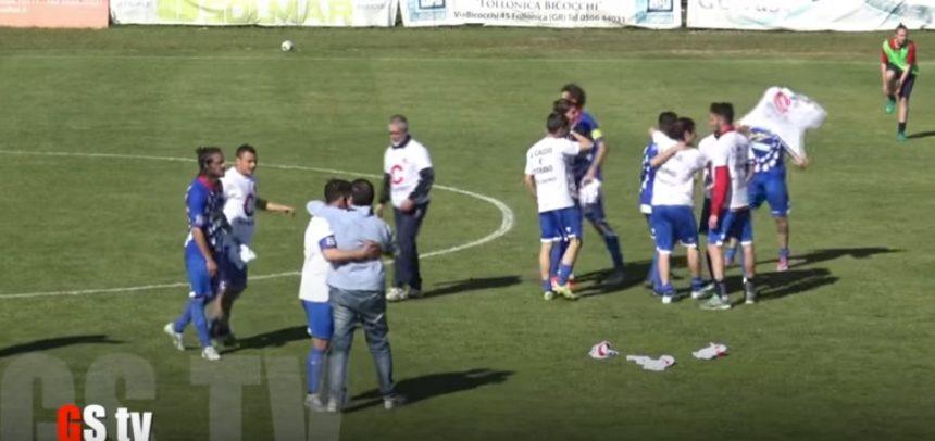 Serie D, la festa del Gavorrano a fine partita by GS-TV