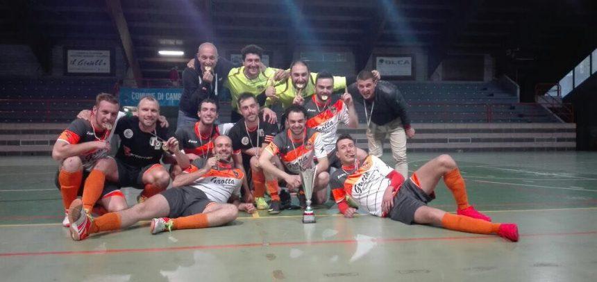 Calcio a 5, l'Ospedaletti è in SERIE B!!! Battuto il Città Giardino ai calci di rigore!!!