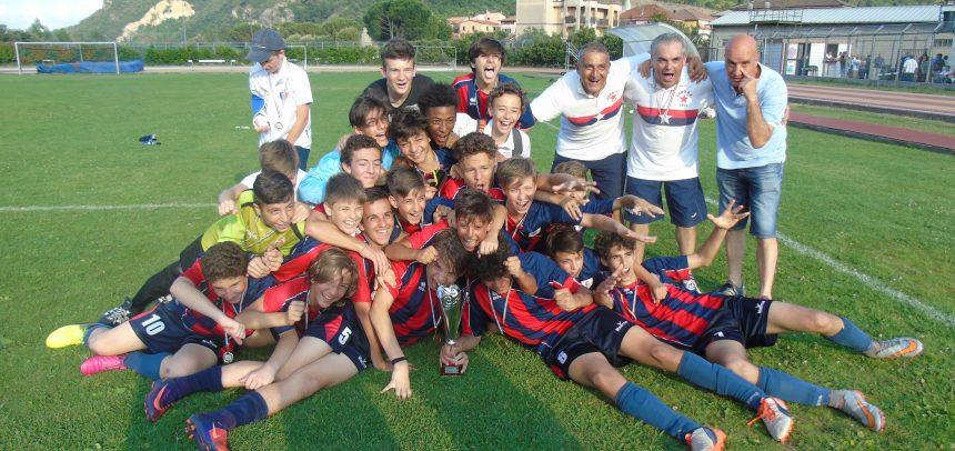 Il Vado è CAMPIONE Regionale Giovanissimi Fascia B, battuta l'Argentina 3-2