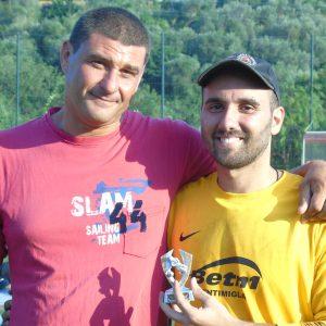 Gabriele Perrino miglior portiere del torneo delle 24 ore di Santo Stefano