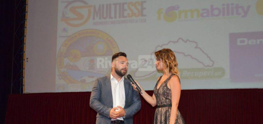 Denis Muca vince il premio Fair play 2016-17