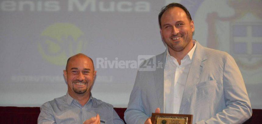 Amedeo Di Latte vince la Panchina d'oro del Ponente 2016-17