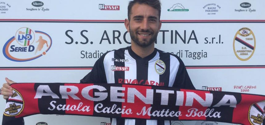 UFFICIALE: Domenico Vitiello è un giocatore dell'Argentina Arma