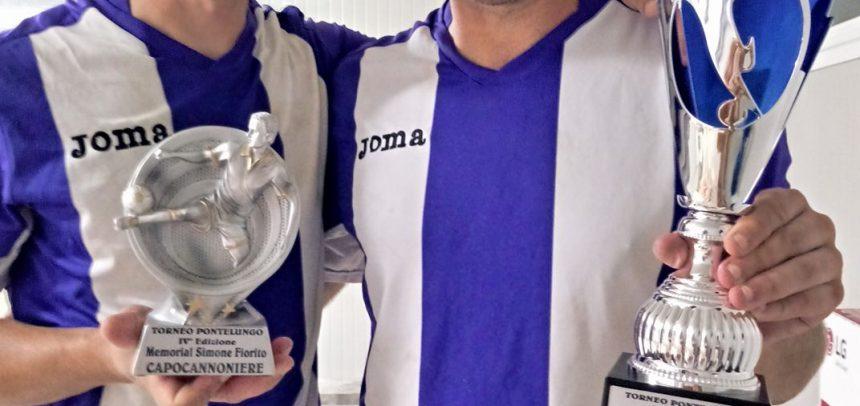 I fratelli Bella fanno l'en plein al Torneo di Pontelungo: vittoria finale, capocannoniere e miglior giocatore!