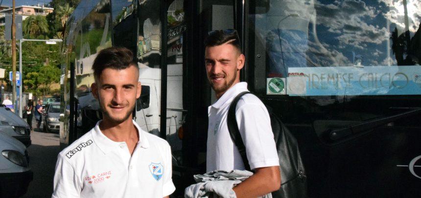 Sanremese Calcio, inizia il ritiro: questa mattina la partenza per Nus in Valle D'Aosta