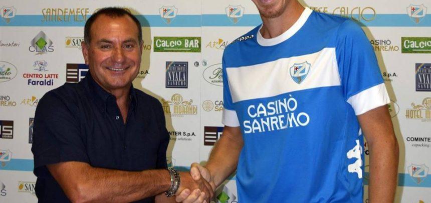 Sanremese Calcio, Giuseppe Cacciatore è un nuovo giocatore biancoazzurro
