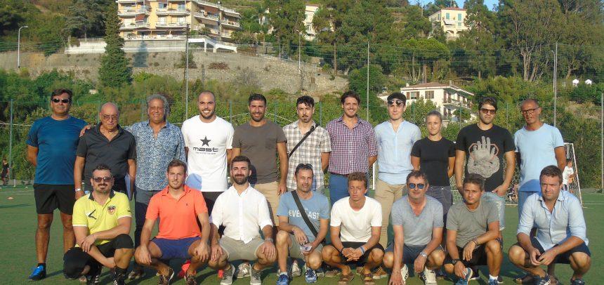 Ospedaletti Calcio, presentati lo staff e il nuovo kit personalizzato: tutte le foto
