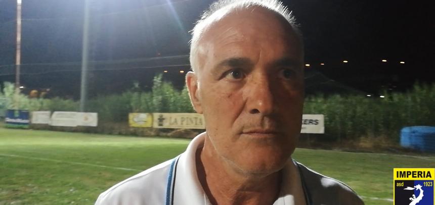 """ASD Imperia, mister Bencardino: """"Questi tre goal ci danno ulteriore voglia di fare bene"""""""