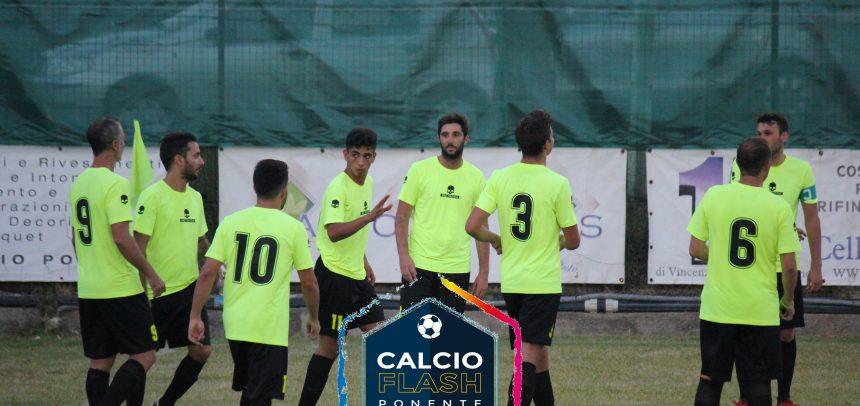 Il Taggia vince a Pallare 3-2 con i gol di Rovella, Rosso e Brizio