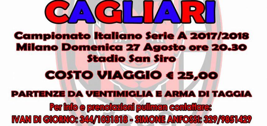 """Milan Club Taggia Arma, Ivan Di Giorno:""""Superati i 100 soci e il 27 agosto primo pullman organizzato per Milan-Cagliari"""