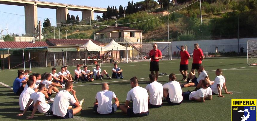 ASD Imperia, primo allenamento della stagione 2017-18