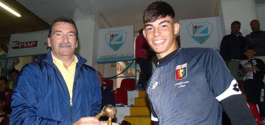 Torneo Internazionale Carlin's Boys, Alessandro Russo premiato come Miglior portiere
