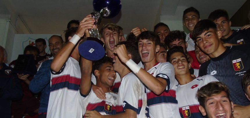 Il Genoa vince il 59° Torneo Internazionale Carlin's Boys!