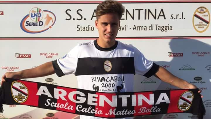 UFFICIALE: Davide Malafronte, attaccante classe '98, ha firmato per l'Argentina Arma