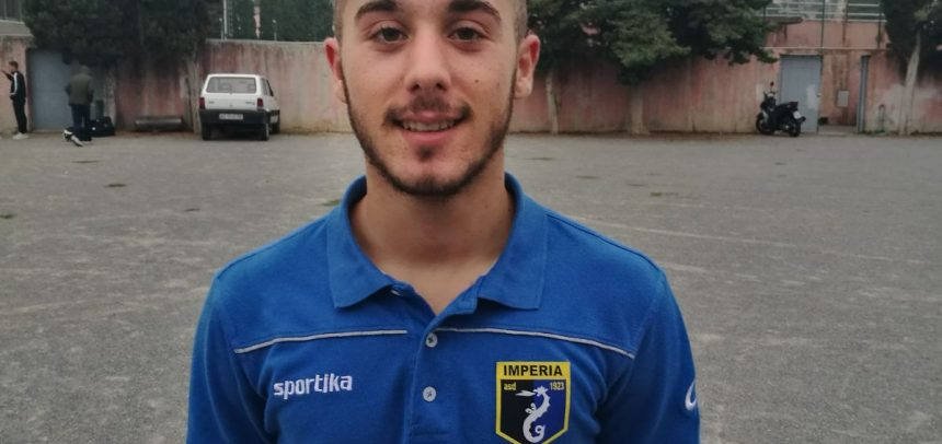 Stefano Balbo è il man of the match Juniores Imperia – Genova Calcio, intervista video