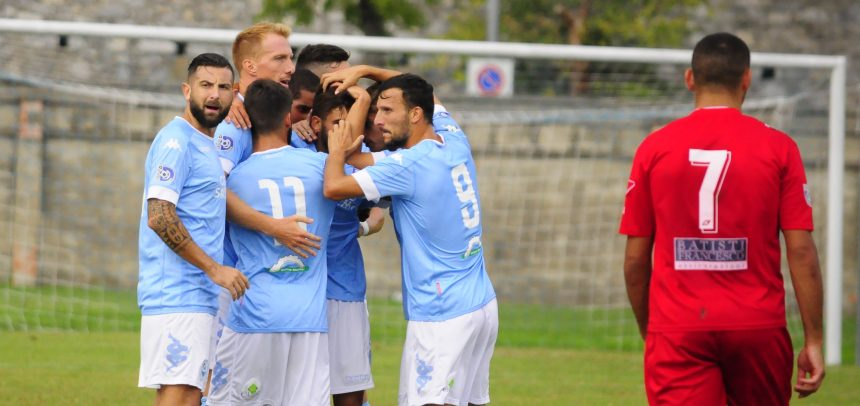 Gli Highlights di Valdinievole Montecatini-Sanremese Calcio 1-2