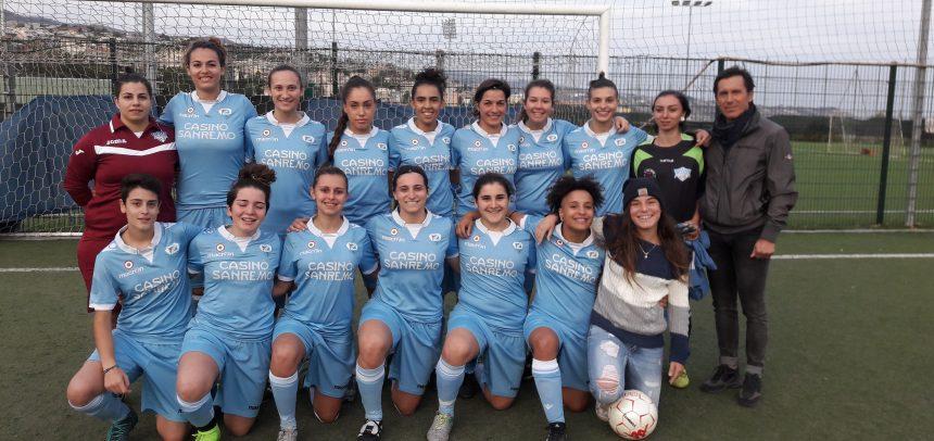 La Sanremese femminile travolge il Genoa 7-0