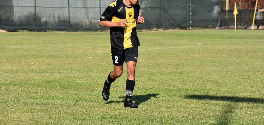Cervo FC, il gol di Mattia Combi contro la Virtus Sanremo