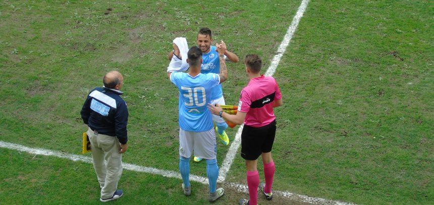 """Sanremese-Rignanese 3-0, il Man of the Match """"TP Convivio"""" è Luca Caboni:""""Non è stato facile dopo un anno di sosta forzata, ringrazio i tifosi per l'accoglienza che mi hanno riservato"""""""