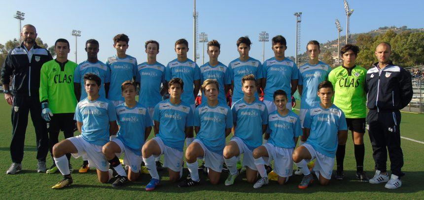 Sanremese Calcio – I Giovanissimi Regionali battono il Serra Riccò 5-1: in gol Lanteri, Negro, Spada e Calimera