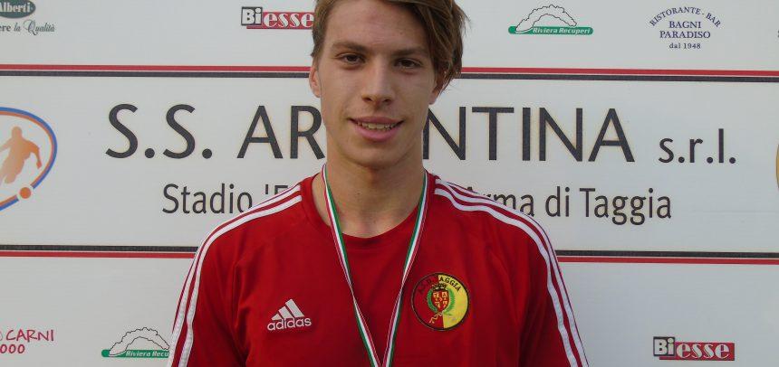 Calciomercato, Matteo Pesco lascia il Taggia e firma per la Carlin's Boys