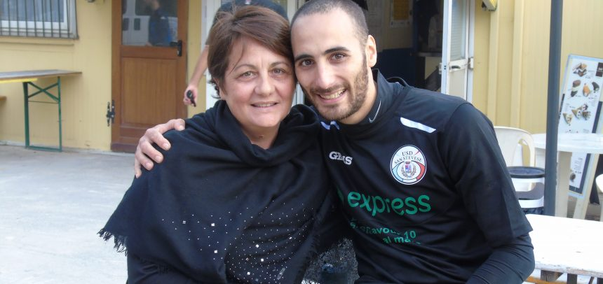 """E' Ciro Di Donato il Man of the Match di Sanstevese-Bordighera Sant'Ampelio 3-1:""""Dedico il gol a mia mamma che oggi compie gli anni"""""""