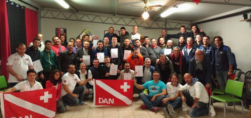 Allenatori Uefa B di Imperia, tutti i partecipanti certificati al corso di formazione BLSD