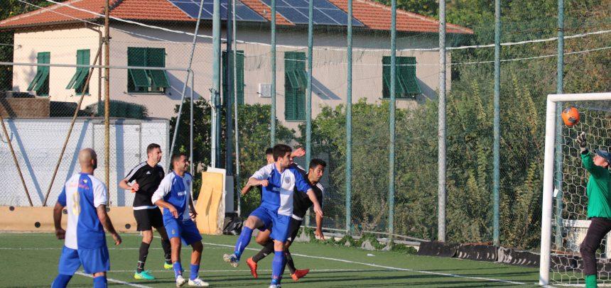Ospedaletti-Campomorone 1-1, non basta il gol di Espinal
