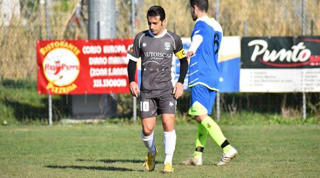 Classifica marcatori Seconda Categoria A: Roby Iannolo in testa con 17 gol