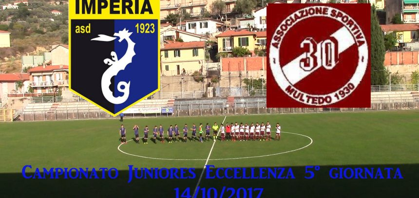Juniores Eccellenza, Imperia 3 Multedo 0 sintesi video