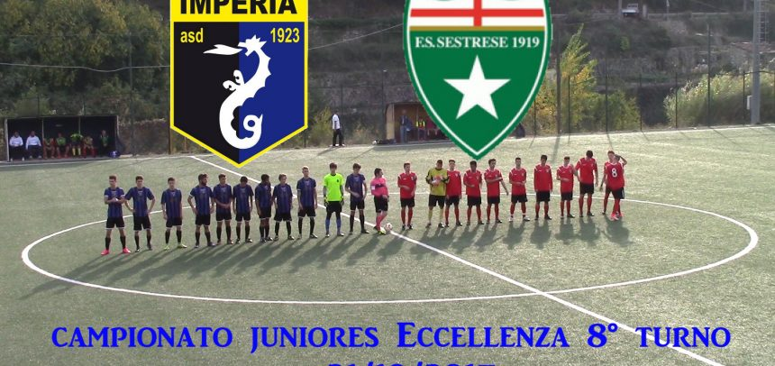 Juniores Eccellenza, Imperia 0 Sestrese 2 sintesi video